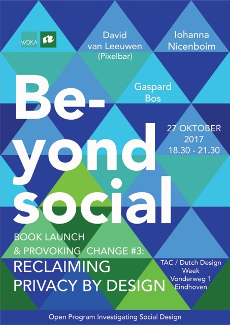 Image for Beyond Social, provoking change: Reclaiming privacy by design