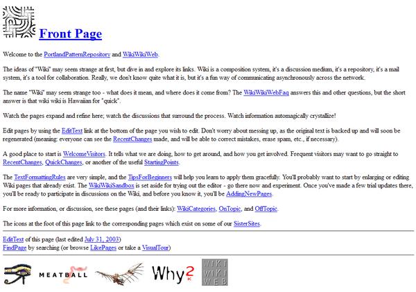Wiki Wiki Web