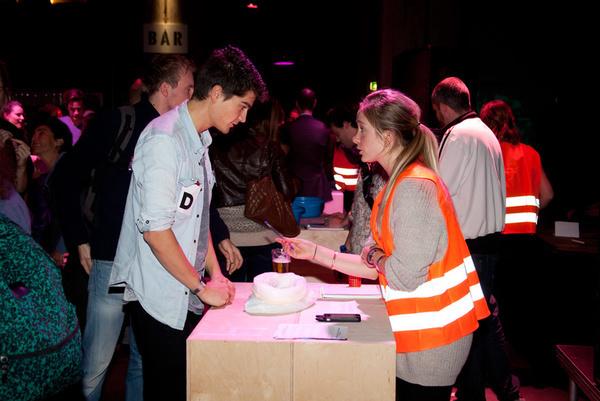 Pervasive experiences at the Redesigning Business Exposium